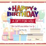 Birthday Gift Certificate