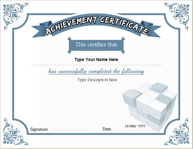 Business Certificate  Business Certificates Templates