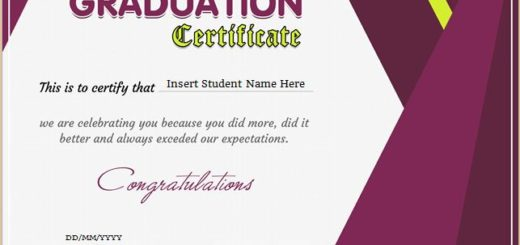 Professional Certificate Templates