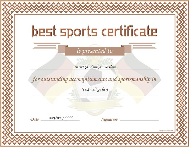 baseball certificate template word